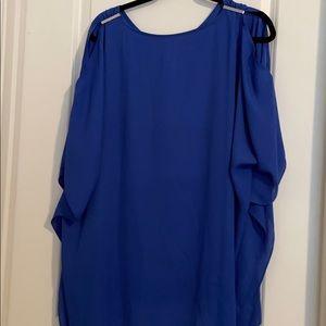 Chico Blue Dress/Long Blouse